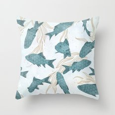 Bluefish Throw Pillow