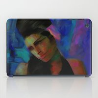 amy hamilton iPad Cases featuring Amy by Darla Designs