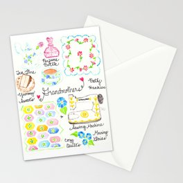 Grandmothers Stationery Cards