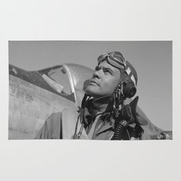 Benjamin Davis Jr. - WW2 Rug