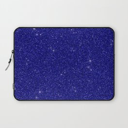 C13D Blue Glitter Laptop Sleeve