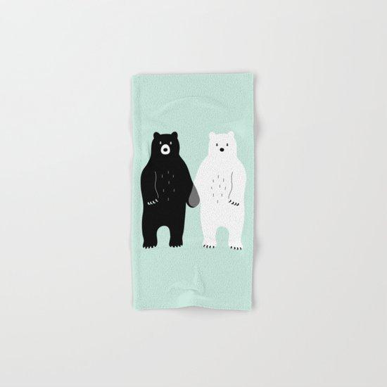 Gray Hand & Bath Towel