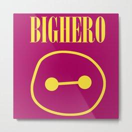 Big Hero Band Metal Print