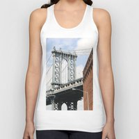 dumbo Tank Tops featuring DUMBO by Christian Hernandez