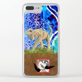 Digging Up the Girl, Growing the Girl Clear iPhone Case