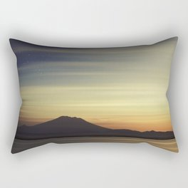 Volcano at Dawn Rectangular Pillow
