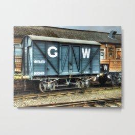 GWR Mink A Van Metal Print