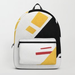 Airplane by Kazimir Malevich - Vintage Painting Backpack