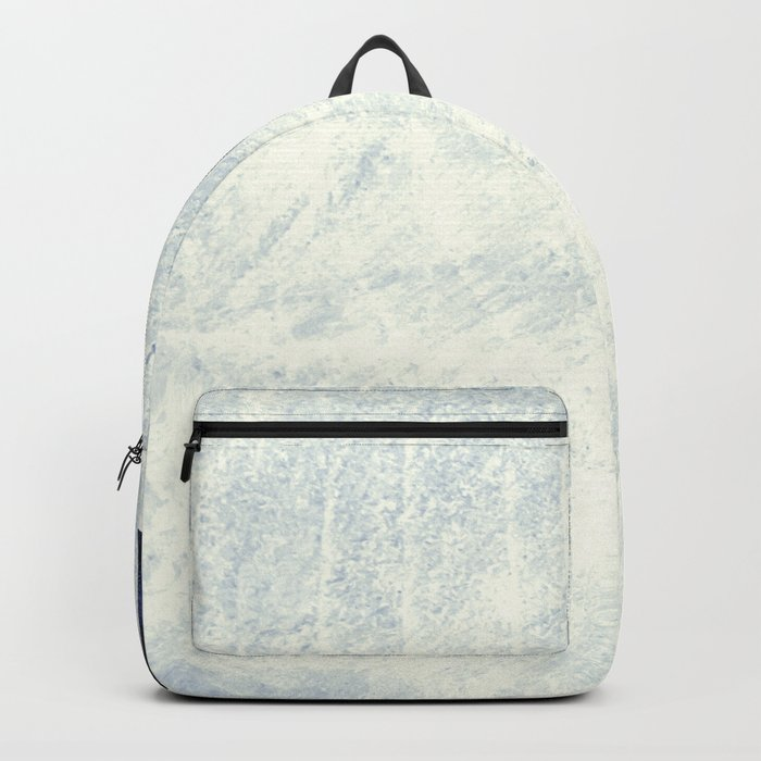 Compass in Navy Blue Backpack