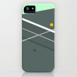 PING PONG iPhone Case