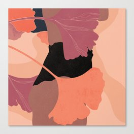Ginkgo Vibing Canvas Print