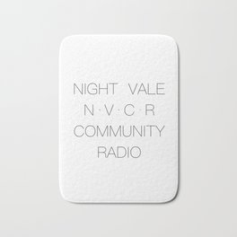 NVCR NightVale Community Radio Bath Mat