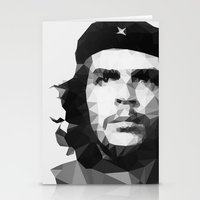 che Stationery Cards featuring Che by Poly Iconik Art