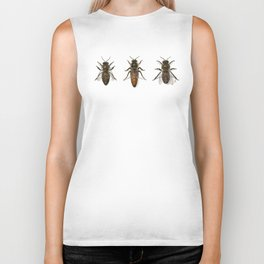 Honey Bee Family Biker Tank