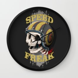 Speed Freak Wall Clock