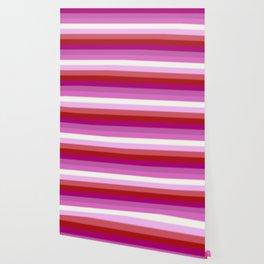 Lesbian Pride Flag v2 Wallpaper
