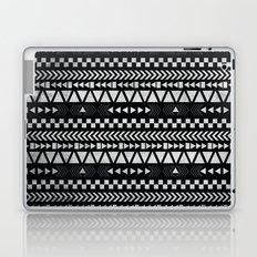Tribal Print in Black and White Laptop & iPad Skin