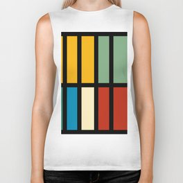 Abstract composition 23 Biker Tank