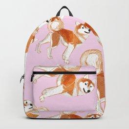 Japanese Dog Breeds: Akita Inu Backpack