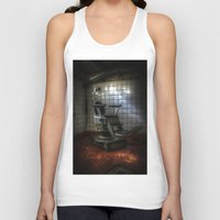dentist Tank Tops featuring Dentist horror by Cozmic Photos