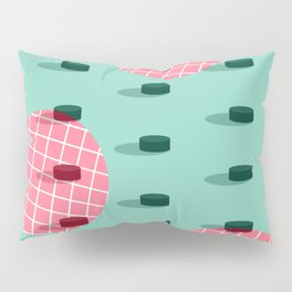 Pop Pucks #society6 #hockey #sport Pillow Sham