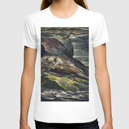 The eagle  from Milton a Poem To Justify the Ways of God to Men by William Blake(1752-1827) T-shirt