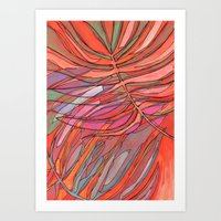 palms Art Prints featuring Palms by Carla_S