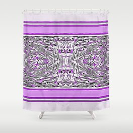 Peacock design Shower Curtain