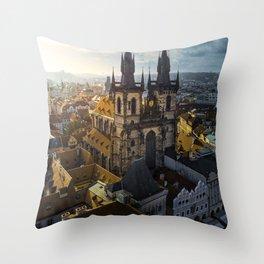 Classic Prague Throw Pillow