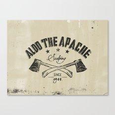 Aldo The Apache Canvas Print