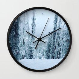 wolf creek tree run Wall Clock