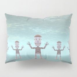 Characters Made of Stone Pillow Sham