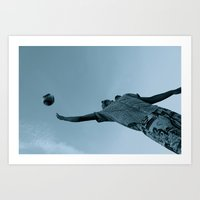 soccer Art Prints featuring Soccer by MaddieKitty