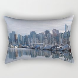 Downtown Vancouver Rectangular Pillow
