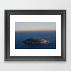 Albany Island Framed Art Print