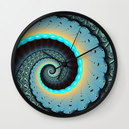 The Mother of All, Abstract Fractal Art Wall Clock