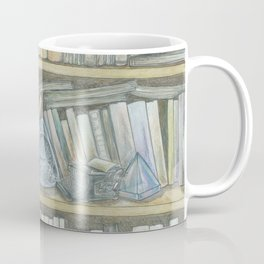 RHX Bookshelf Logo Coffee Mug