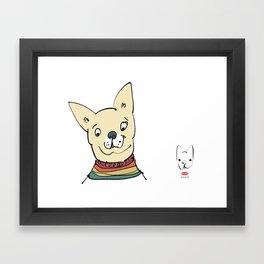 chico 2 Framed Art Print