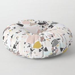 Terrazzo Pattern II. Floor Pillow