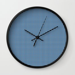 Emily's Gingham Wall Clock