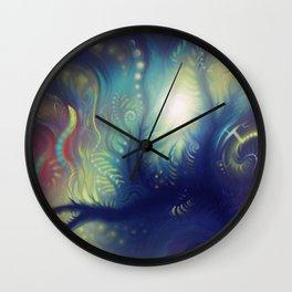 sea fern Wall Clock