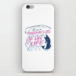 Fisherman's Girl iPhone Skin
