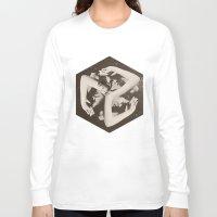 lady gaga Long Sleeve T-shirts featuring BOX by Ali GULEC