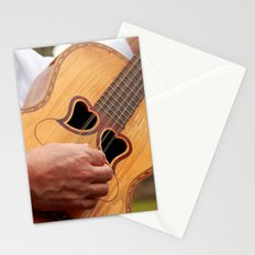 Typical Azores guitar Stationery Cards