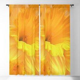 Spring Floral Portrait Blackout Curtain