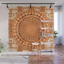 Boho Pumpkin Spice Mandala Wall Mural