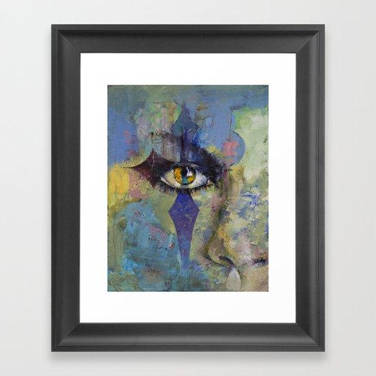 Gothic Art Framed Art Print