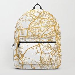 BRUSSELS BELGIUM CITY STREET MAP ART Backpack