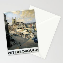 retro Peterborough Stationery Cards