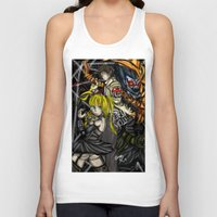 death note Tank Tops featuring Death Note by SpontaneousOD